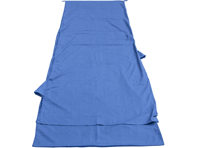 Basic Nature Mixed Sleeping Bag Liner Blanket Shape, royal blue